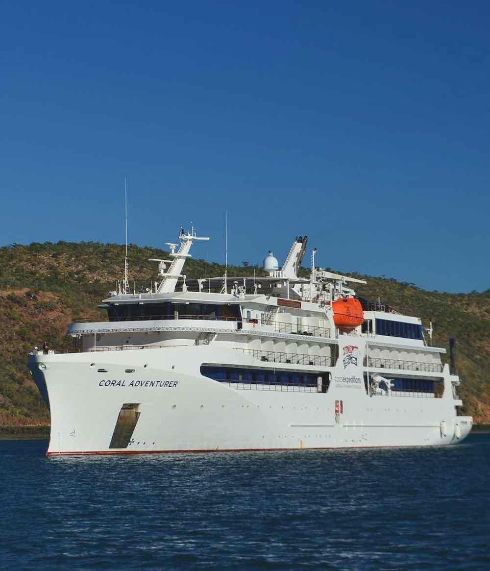 Kimberley Cruises Coral Adventurer
