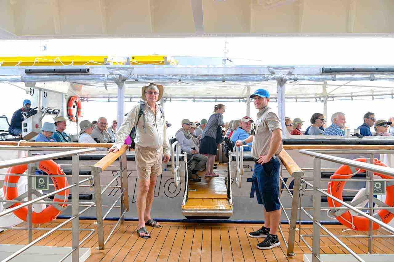 Coral Adventurer Xplorer boarding