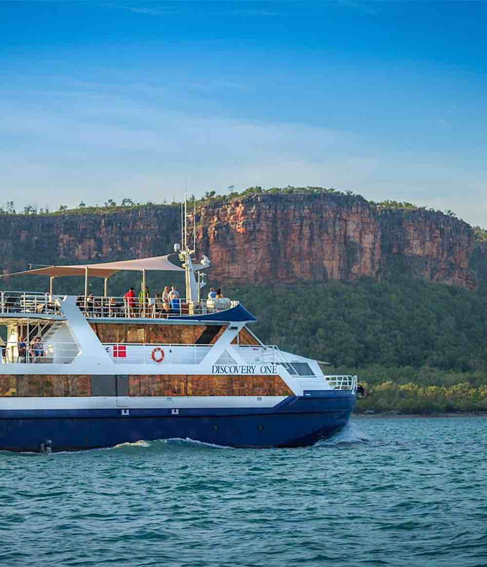 Discovery One cruising Kimberley