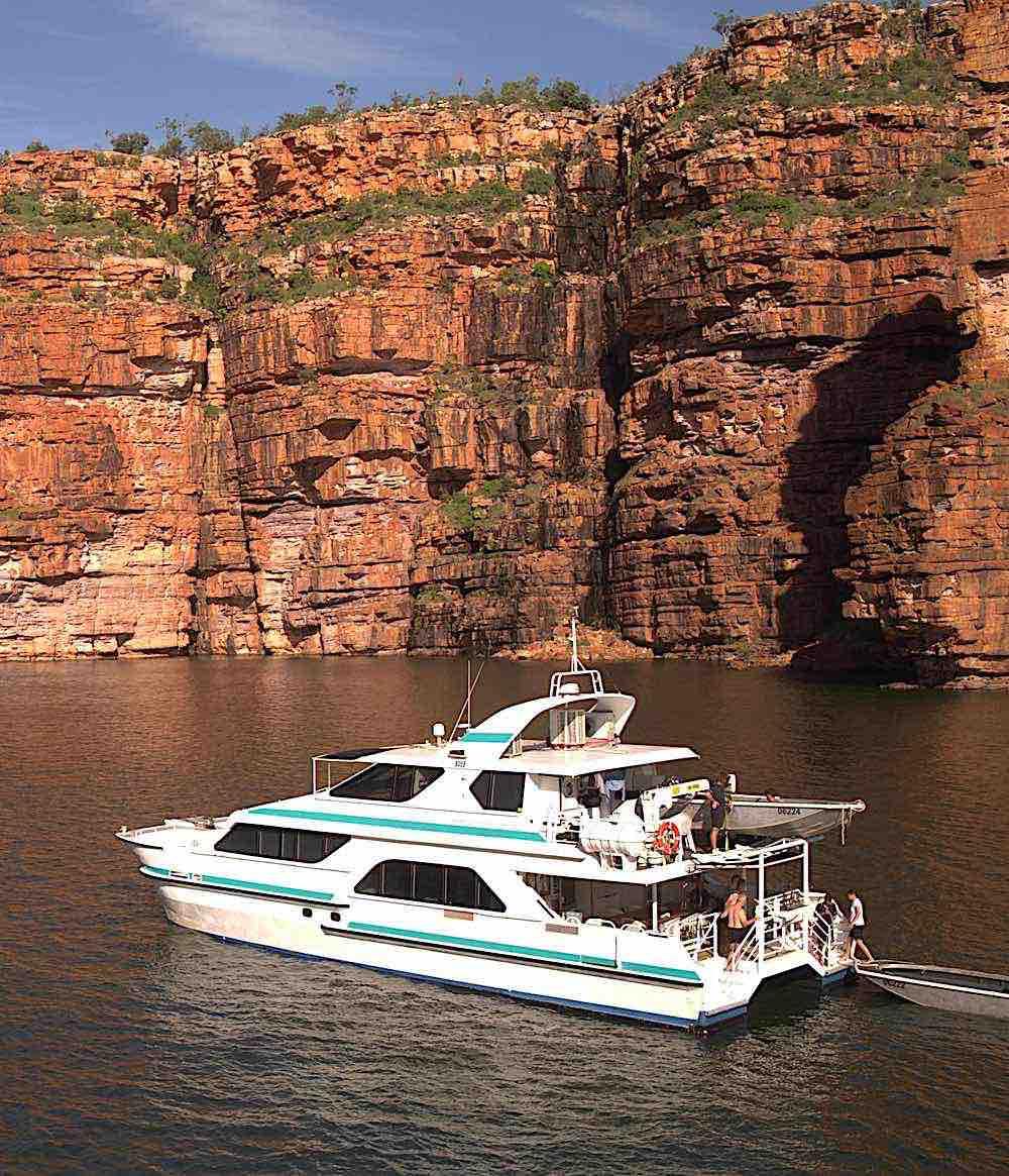 Diversity Charters cruising Kimberley