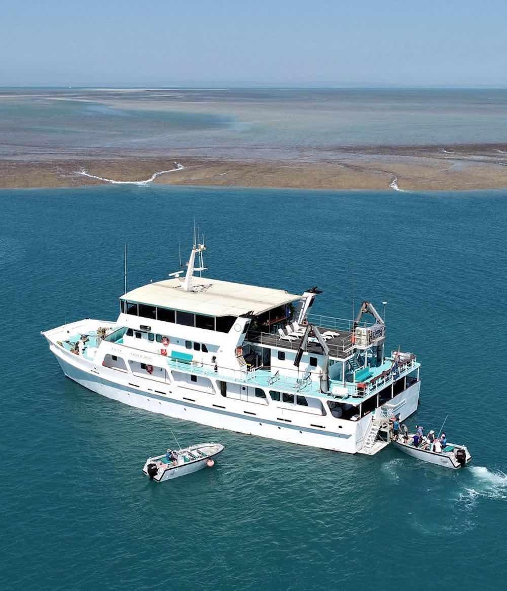 Eco Abrolhos Kimberley Cruises