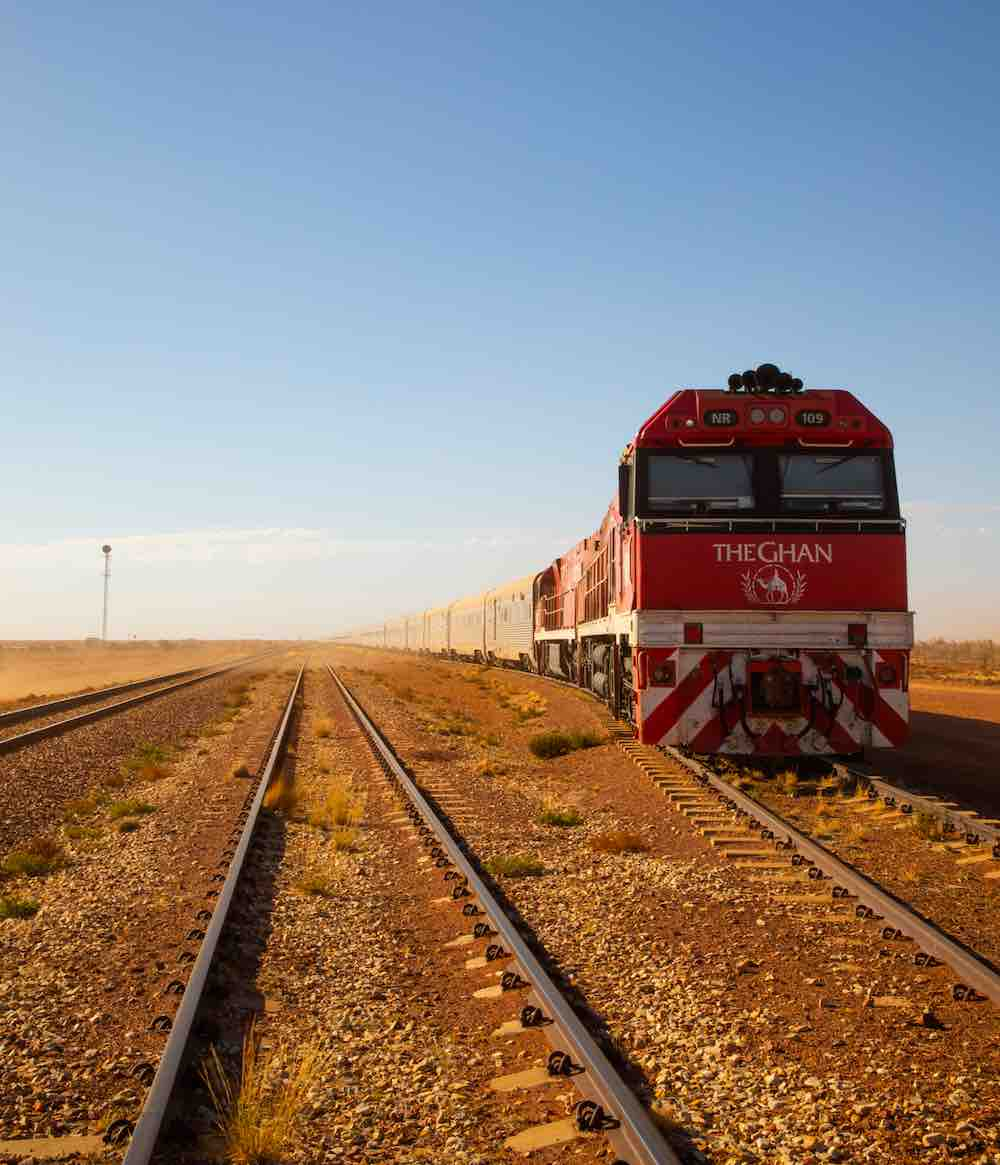 The Ghan Expedition train