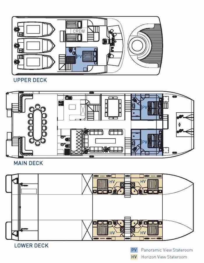 Great Escape Deck Plans