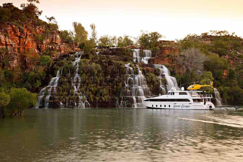 Great Escape at King Cascades Kimberley Cruises