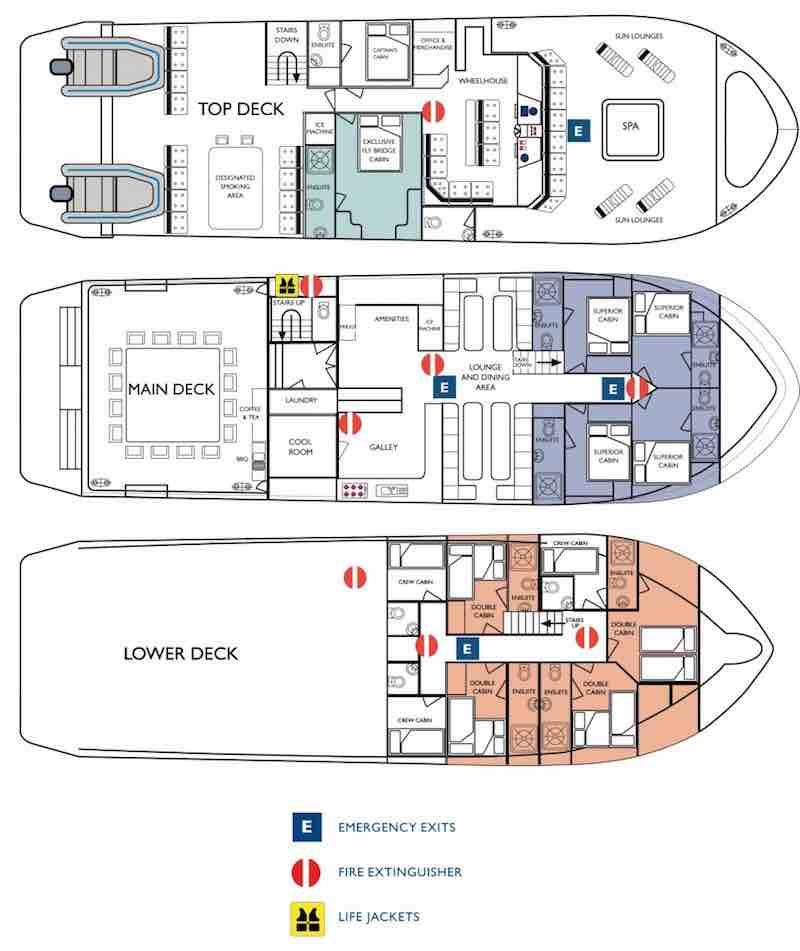 Kimberley Quest II deckplan
