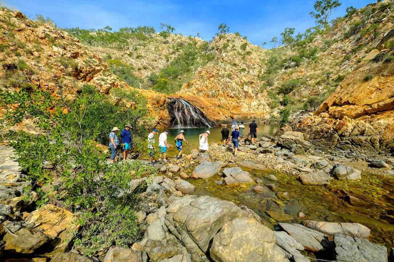 Kimberley Pearl bush walk