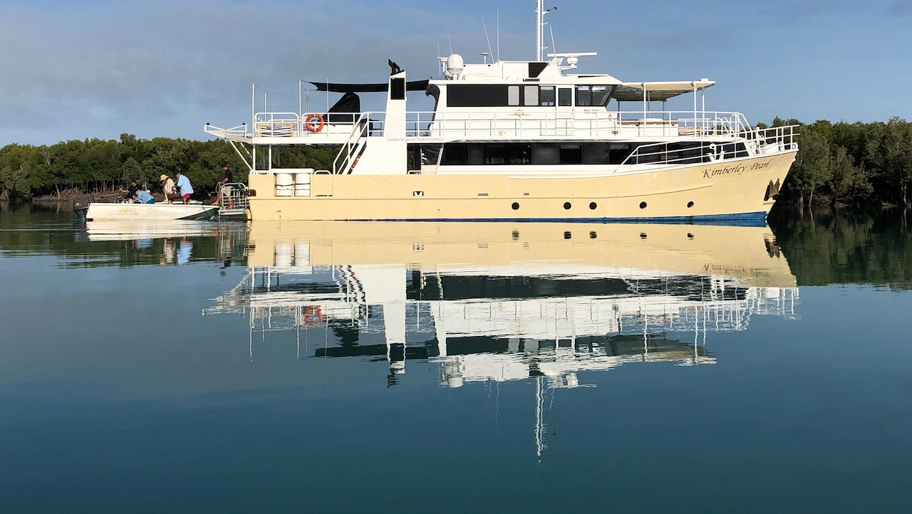 Kimberley Pearl on a Kimberley Cruise