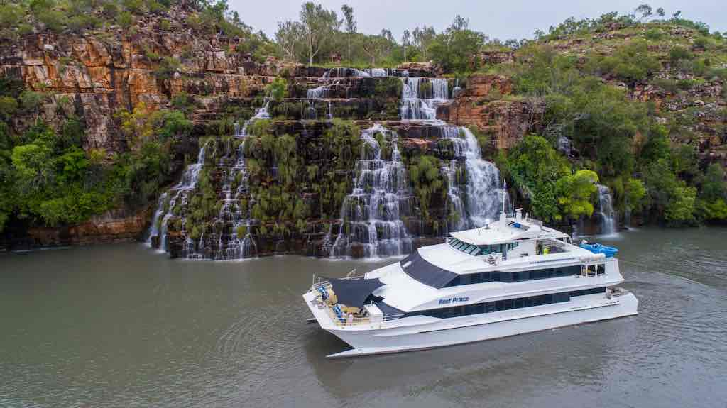 Reef prince at King Cascades in the Kimberley