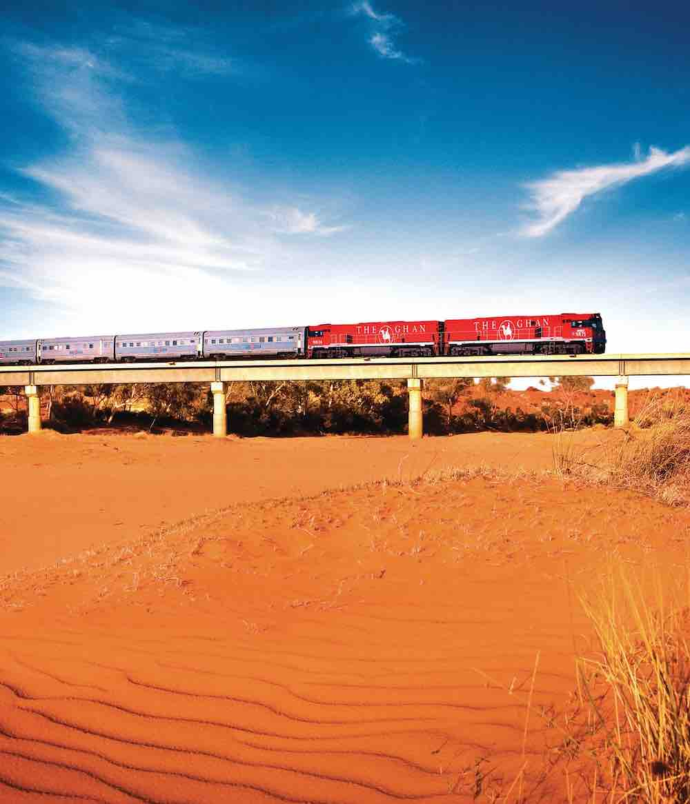 The Ghan and Kimberley Cruise