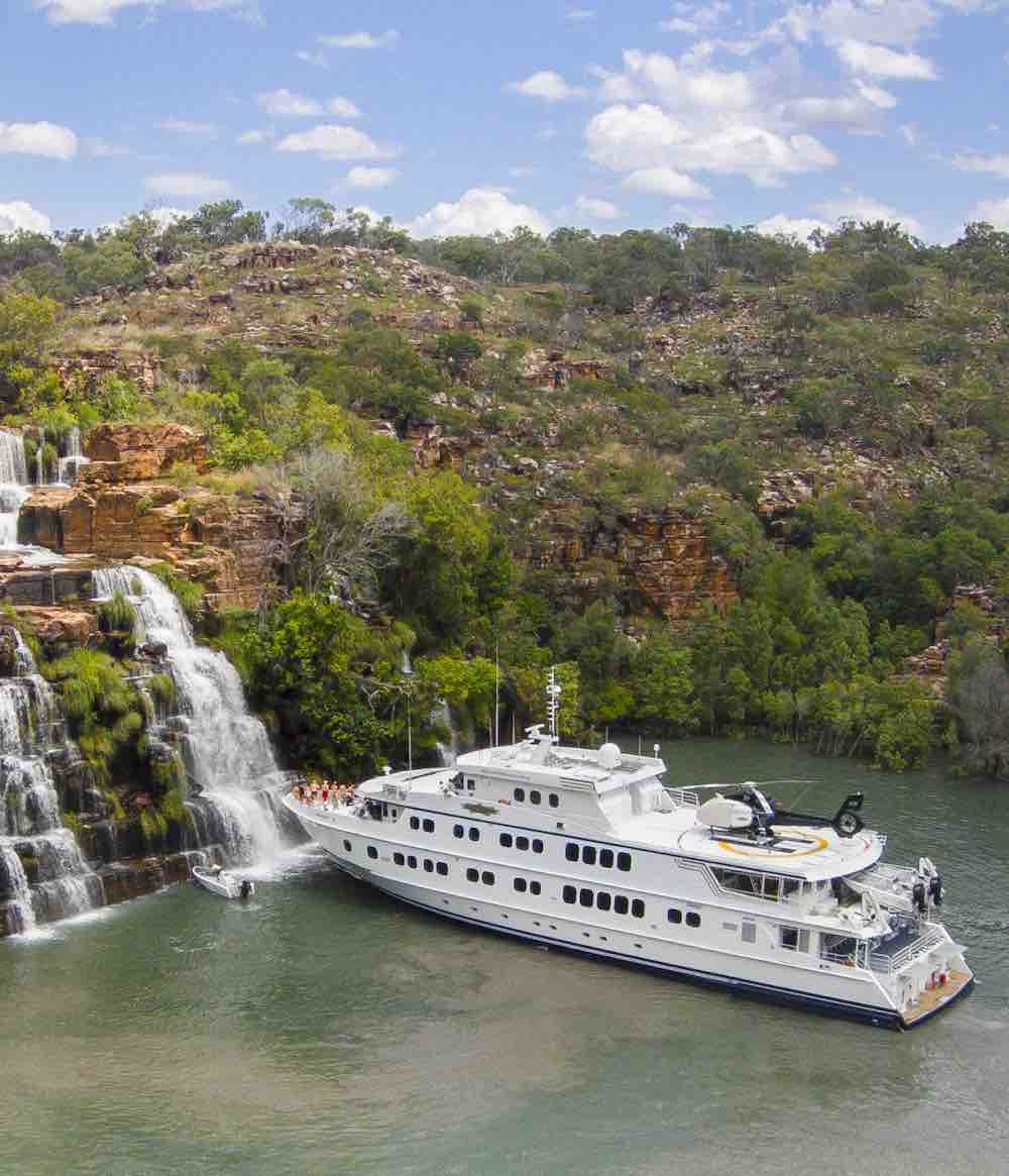 True North at King Cascades Kimberley Cruises