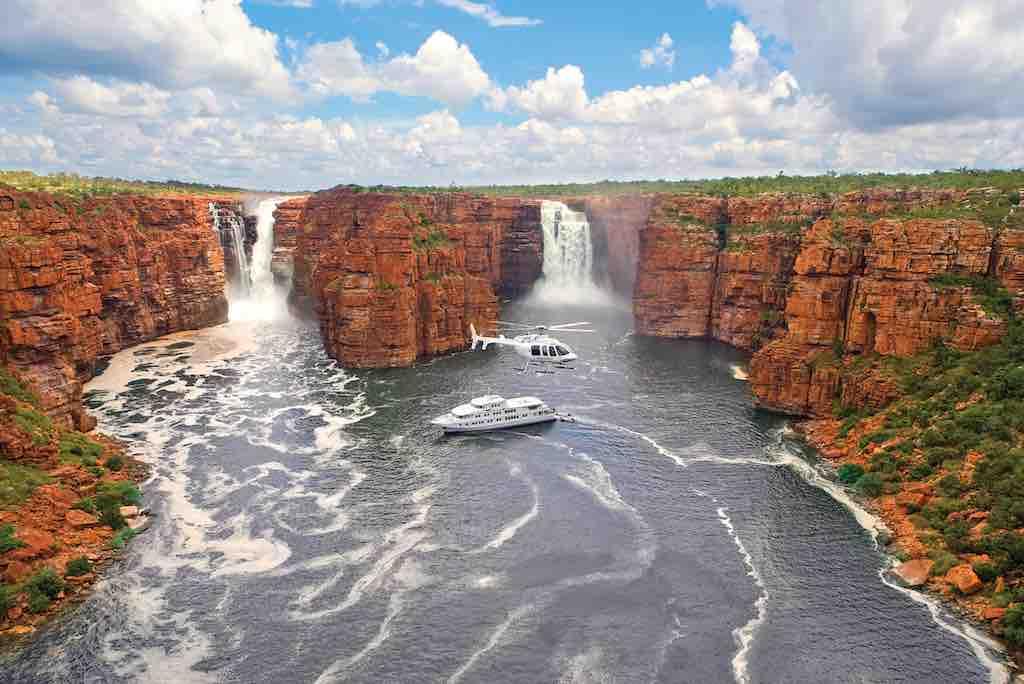 True North waterfalls