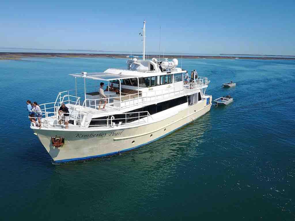 Kimberley Pearl cruises