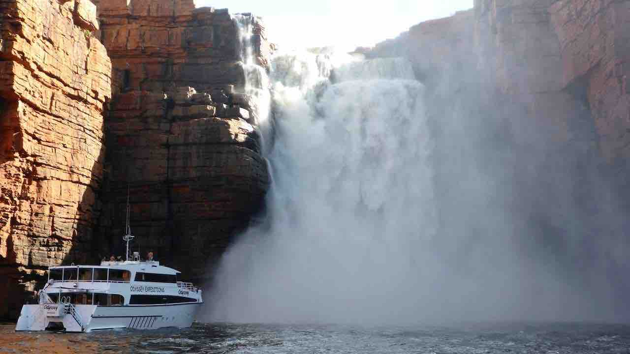 Odyssey Expeditions at King George Falls