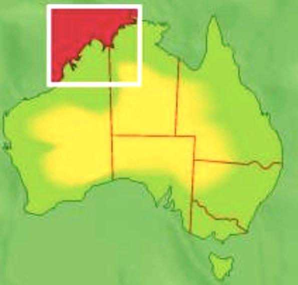 Kimberley Australia Map