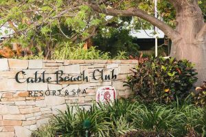 Cable Beach Club Sign