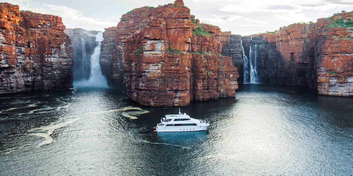 Ocean Dream cruising the Kimberley