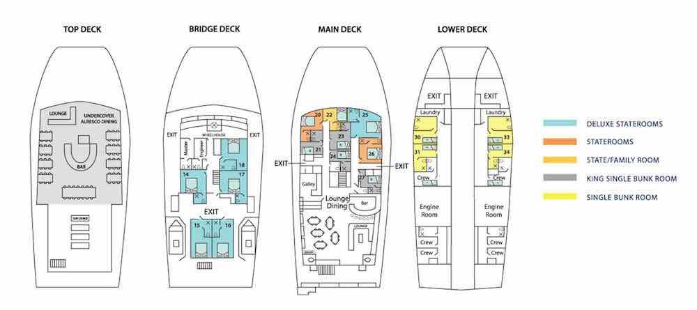 Eco Abrolhos Deckplan
