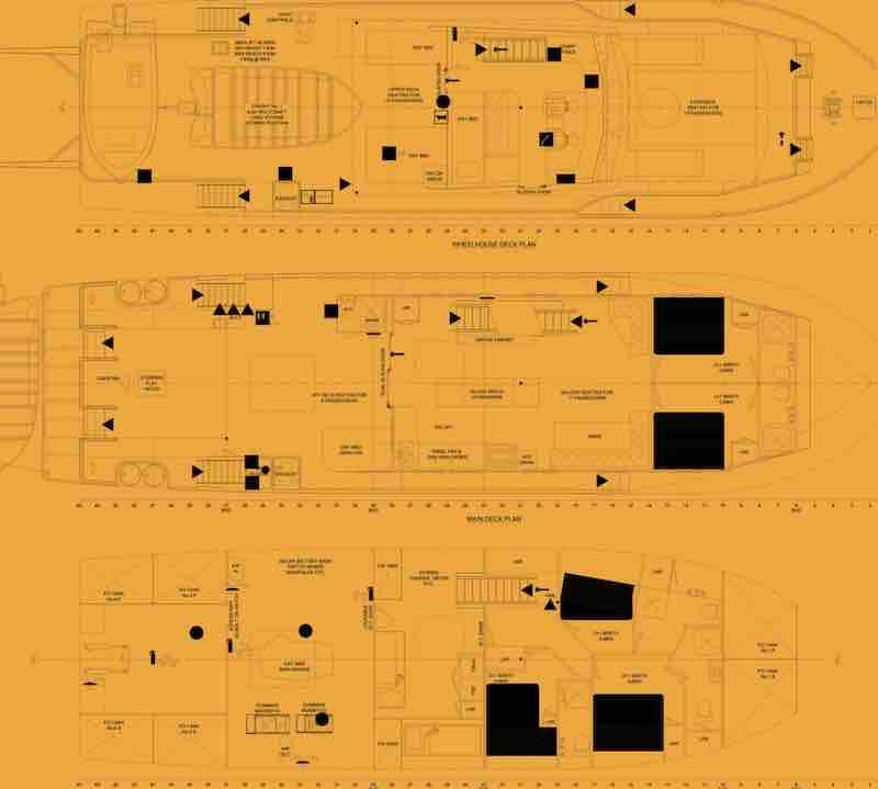 Kimberley Pearl Deck Plan